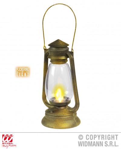 Linterna con luz LED