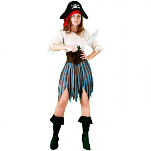 Disfraz Moza Pirata
