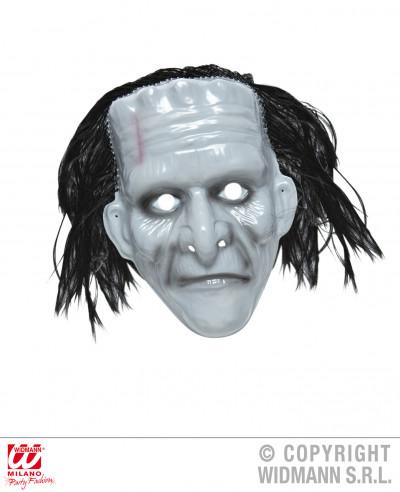 Máscara de monstruo con peluca