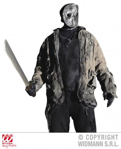 Máscara y machete 56cm