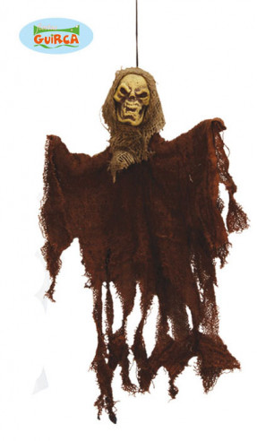 Colgante de fantasma marrón