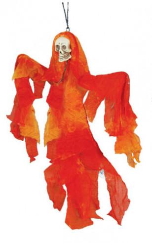 Colgante de fantasma naranja