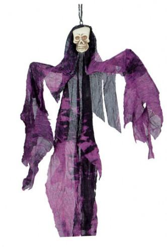 Colgante de fantasma violeta