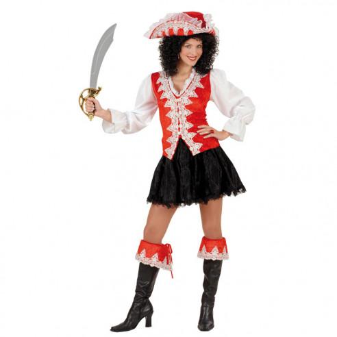 Disfraz Piratesa Rosa