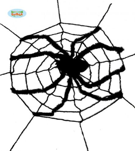 Telaraña con araña