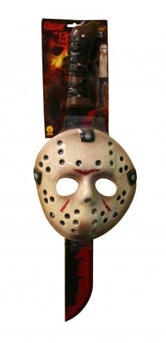 Máscara y machete de viernes 13