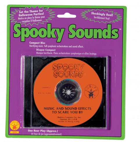 CD con efectos especiales de terror