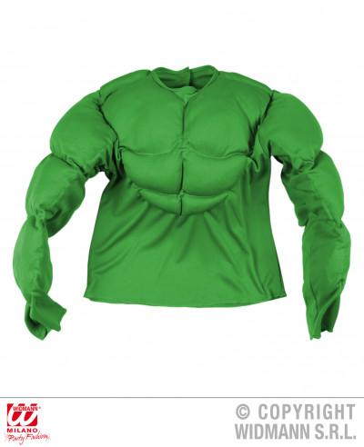 Camisa con músculos para niño
