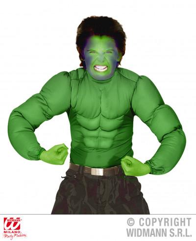 Camisa con músculos para adulto