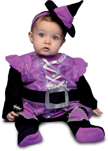 Disfraz de bruja para bebé