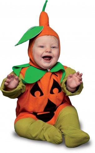 Disfraz de calabaza para bebé