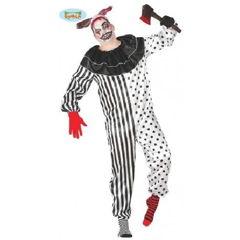 Disfraz de payaso siniestro de circo