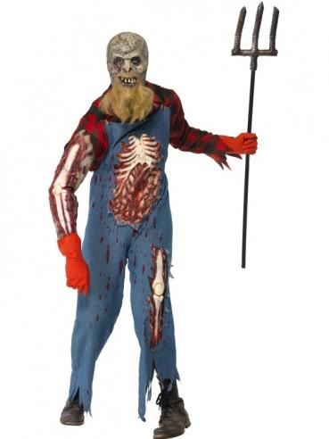 Disfraz de campesino zombie