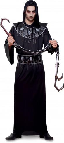 Disfraz de Muerte con cadena