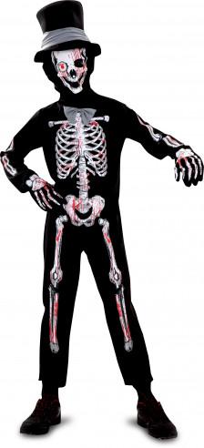 Disfraz de esqueleto para niño...