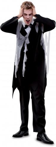 Disfraz de novio zombie