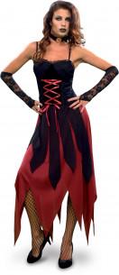 Disfraz vampiresa gótica