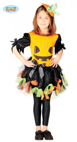 disfraz de calabaza para niña