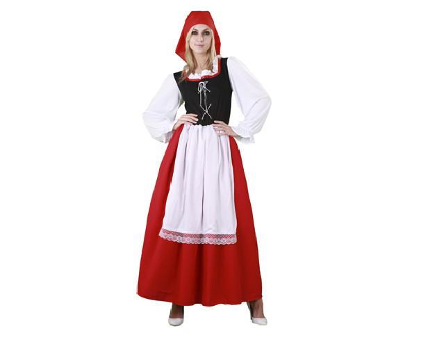 Disfraz de aldeana