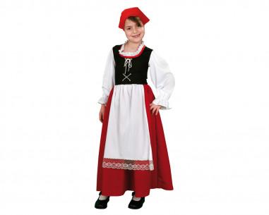 Disfraz de aldeana niña