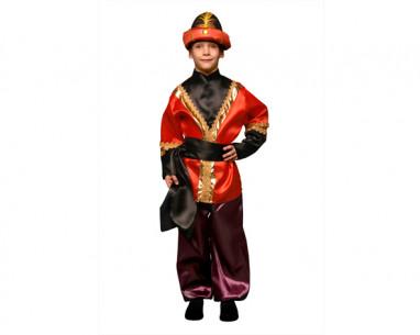 Disfraz de paje infantil rojo