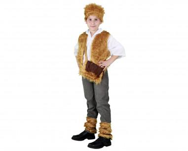 Disfraz de pastorcillo marrón