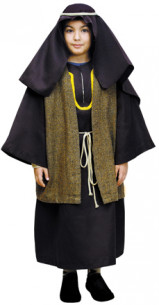 Disfraz San José niño rayas