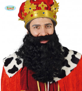 Barba Rey Mago negra