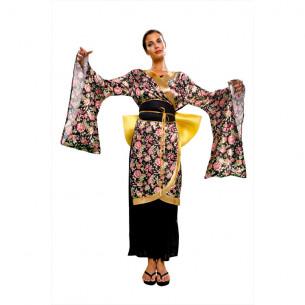 Disfraz Geisha Flores