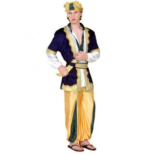 Disfraz de Sultán azul