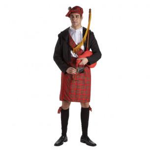 Disfraz Escocés Lujo