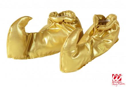 Cubrezapatos Árabe Dorados