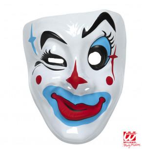 Máscara Payaso de Plástico...