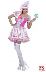 Disfraz Chica Cupcake Mujer
