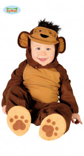 Disfraz de mono bebé