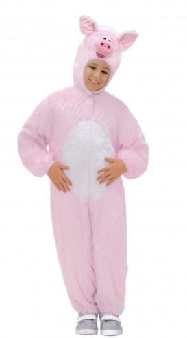 Disfraz Cerdo Peluche Infantil