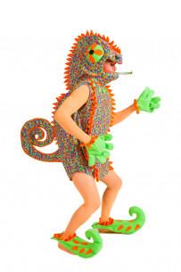 Disfraz de camaleón hombre
