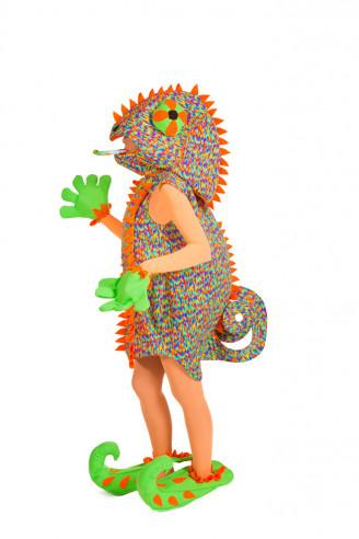 Disfraz de camaleón mujer