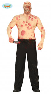 Disfraz hombre quemado