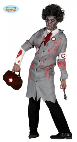 Disfraz de zombie Dead Doctor