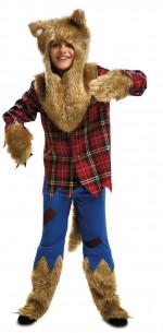 Disfraz hombre lobo niño