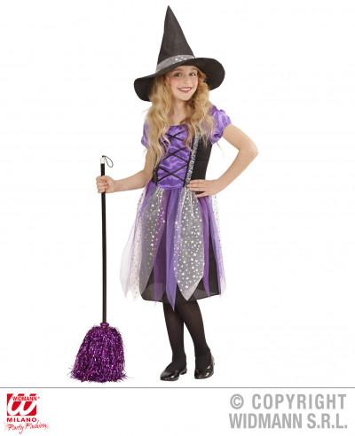 Disfraz de bruja niña