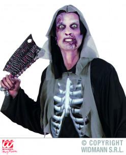 Maquillaje zombie piel