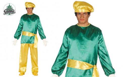 Disfraz de paje Rey Baltasar