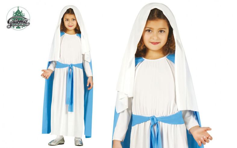 Disfraz Virgen Maria infantil