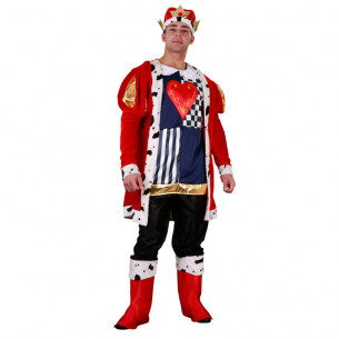 Disfraz Rey de Corazones