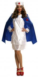 Disfraz de enfermera con capa
