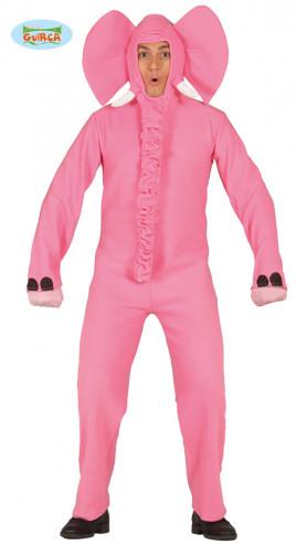Disfraz de elefante rosa