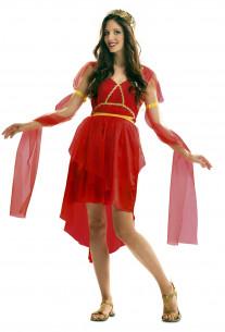 Disfraz de romana rojo