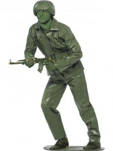 Disfraz soldado verde